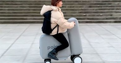 Poimo: The New Portable and Inflatable Mobility Device by Mercari & The University of Tokyo